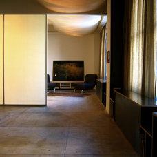 Contemporary Living Room by SchappacherWhite Architecture D.P.C.