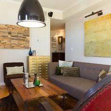 Transitional Living Room by Design Inside - Chicago