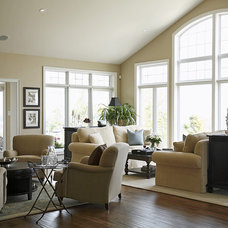 Traditional Living Room by Jacqueline Glass and Associates