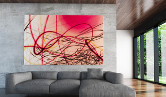 Large Urban Experimental Abstract Art