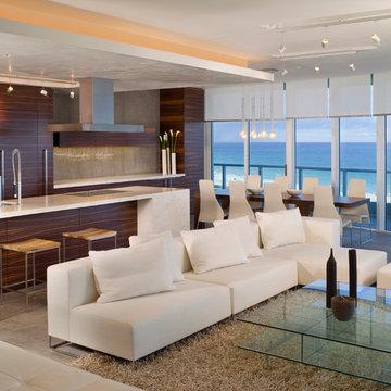 Larissa Sand/ Sand Studios Miami beachfront condo