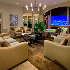 Contemporary Living Room by Storch Entertainment Systems