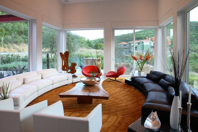 Contemporary Living Room by Adrian Martinez Arquitectos