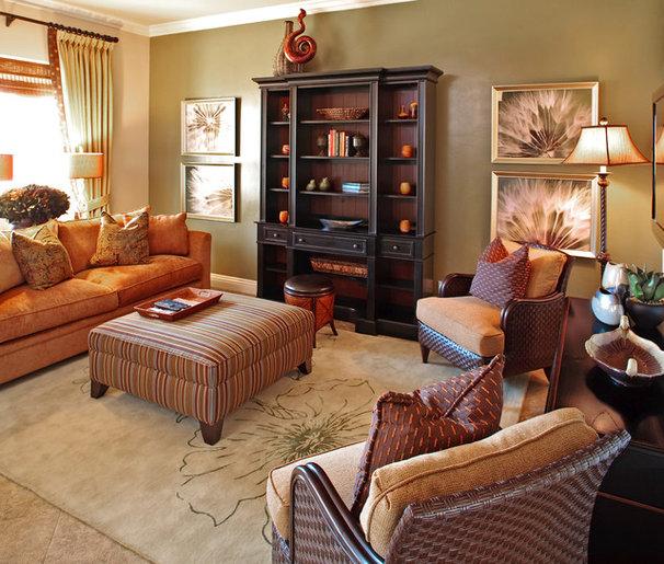 Contemporary Living Room by Gates Interior Design