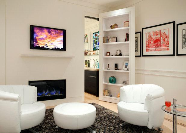 Contemporary Vardagsrum by SV Design
