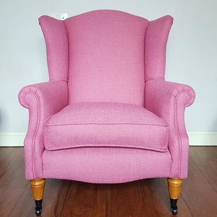 Laura Ashley Wing Chair Re-upholstery