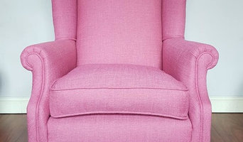 Laura Ashley Wing Chai Reupholstery