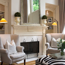 Transitional Living Room by AHT Interiors