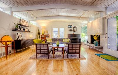 Houzz Tour: Bright Midcentury-Modern House in Seattle