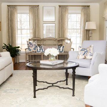 Lavendar Threads Living Room