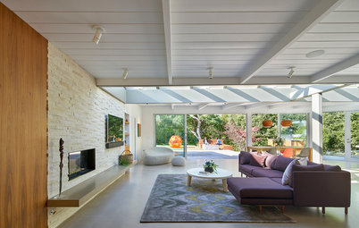 Modern Homes Houzz Tour From Cookie Cutter Look To Family Home