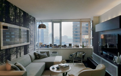 My Houzz: Boutique Hotel Ambience in a Manhattan Bachelor Pad