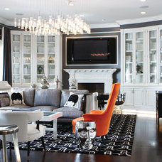 Contemporary Living Room by Aly Daly Design
