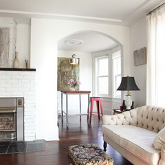 eclectic living room by Megan Buchanan
