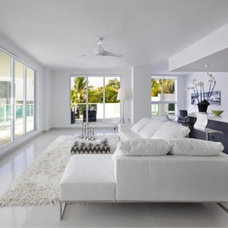 Contemporary Living Room by NaturaliStone