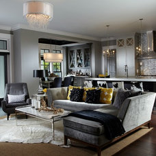 Transitional Living Room by Freestyle Interiors