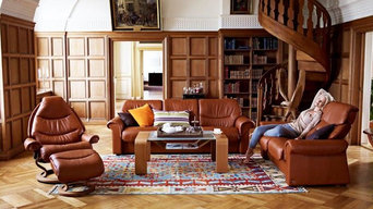 Leather Family Room