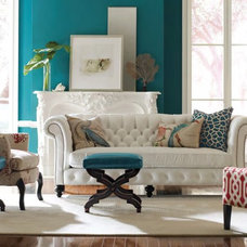 Traditional Living Room by Wellington's Leather Furniture