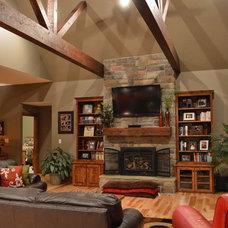 Traditional Living Room Ledbetter House