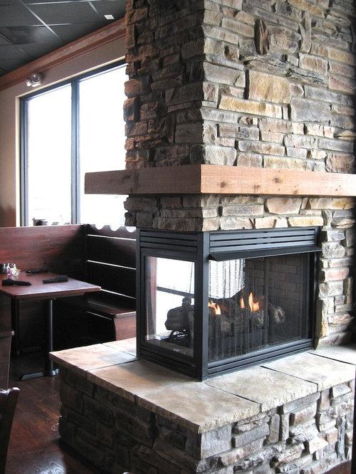 Ledge Stone Fireplaces Houzz