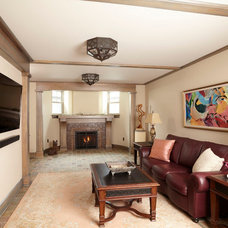 Traditional Living Room by Ingrained Wood Studios