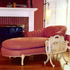 Traditional Living Room by Leeza Designs