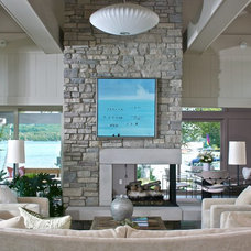 Contemporary Living Room by Rock Kauffman Design