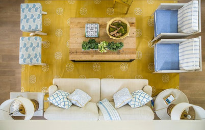Room of the Day: California Living Room With a Twist of Lemon