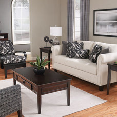 Traditional Living Room by Brook Furniture Rental