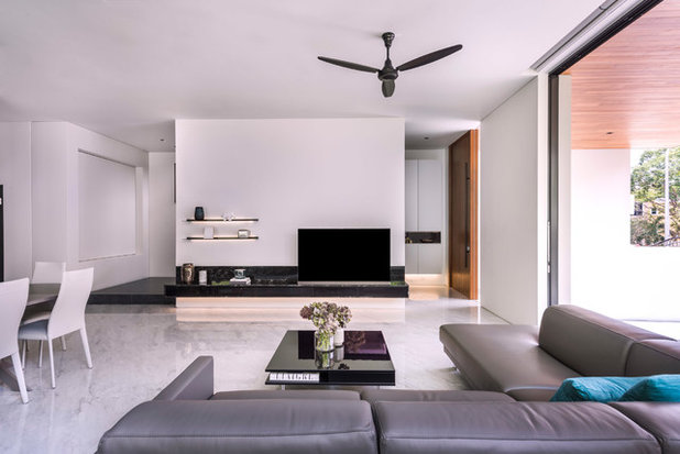 Contemporary Living Room by Ming Architects