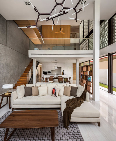 Contemporary Living Room by Atelier Here