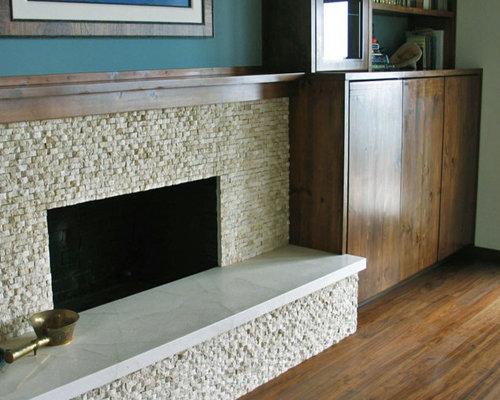 Limestone Slab Hearth Home Design Ideas Pictures Remodel