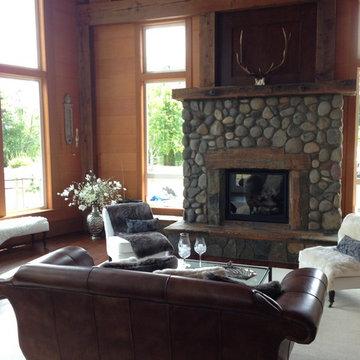 Lewis & Clark Timber Frame Home