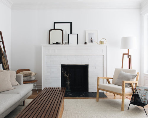 scandinavian living room design. Example of a mid sized danish light wood floor living room design in  Chicago with 25 Best Scandinavian Living Room Ideas Remodeling Photos Houzz