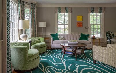 Living Room Revamp Adds Appealing Energy