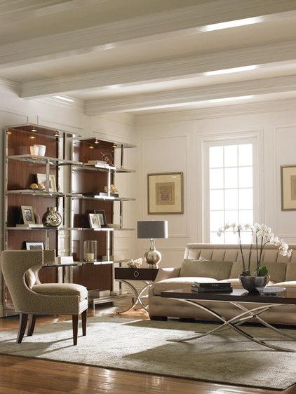 Contemporary Living Room by Barbara Schaver @ Furnitureland South