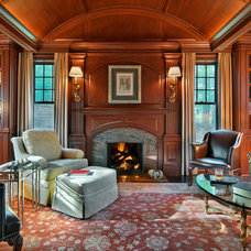 Traditional Living Room by Jan Gleysteen Architects, Inc