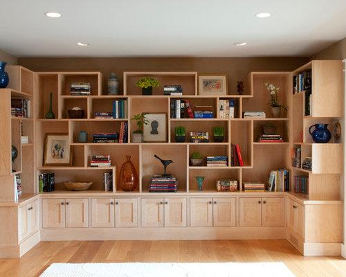 Asymmetrical Shelves Houzz