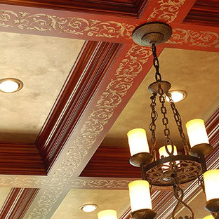 Library Ceiling Details