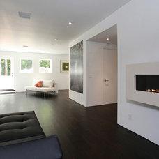 Contemporary Living Room by Corbo Associates Inc.