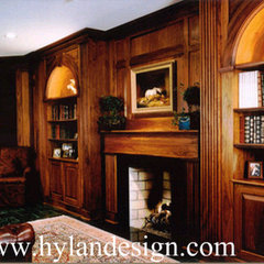 traditional living room by Hylan Design, Ltd.