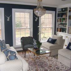 Traditional Living Room by Kevin Malone