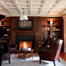 Traditional Living Room by McBurney Junction