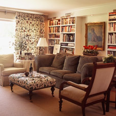 Traditional Living Room by Moore About... Design