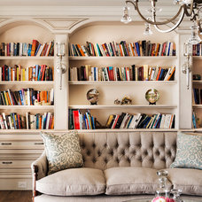 Traditional Living Room by Jodie Cooper Design