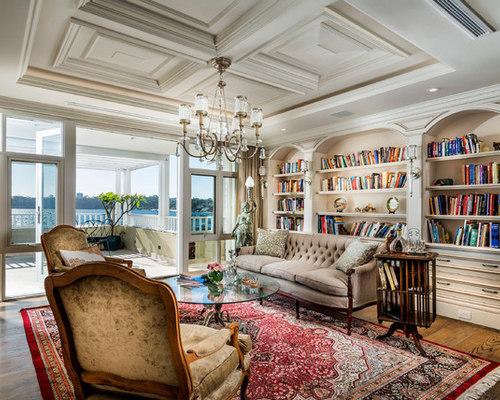 Open Living Room Libary