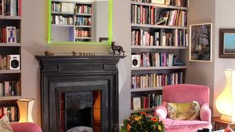Library - very discreet loudspeakers