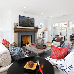 eclectic living room by Blackband Design