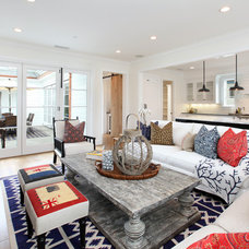 Traditional Living Room by Graystone Custom Builders, Inc.