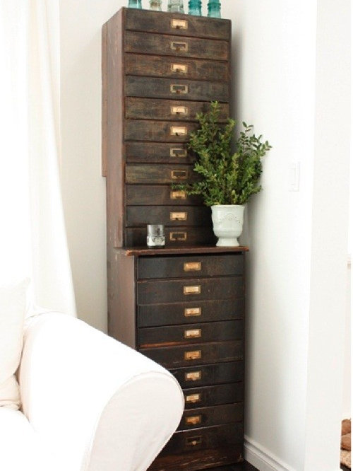 Wood File Cabinet Home Design Ideas, Pictures, Remodel and Decor